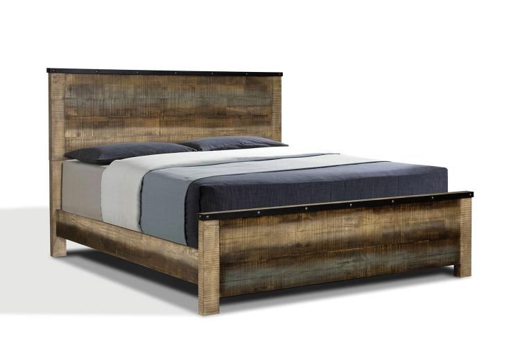Sembene Panel Bed - Multi