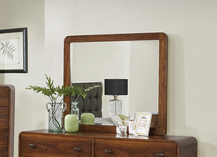 Robyn Mirror - Dark Walnut