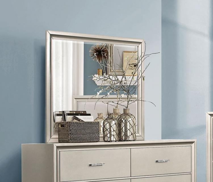 Coaster Lana Mirror - Silver