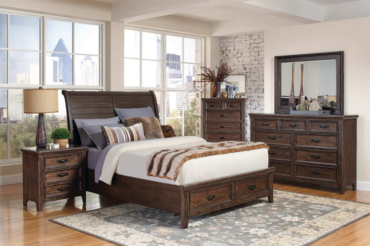 Ives Bedroom Collection - Antique Mink