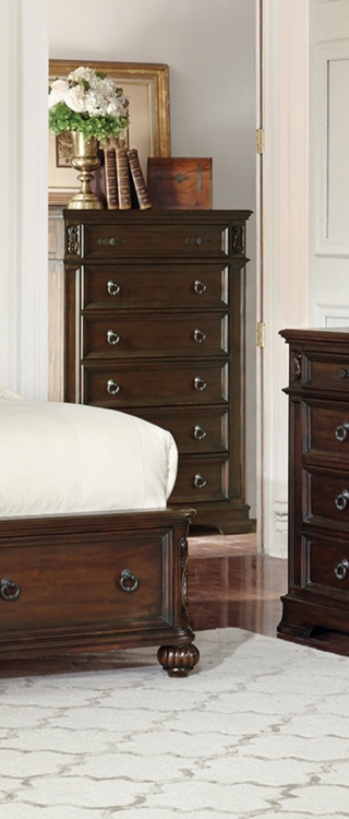 Ilana 6-Drawers Chest - Antique Java