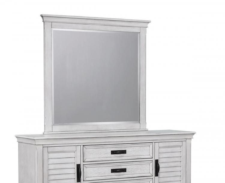 Liza Mirror - Antique White
