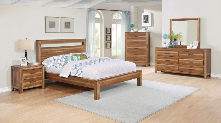 Ethan Bedroom Collection - Natural Brown