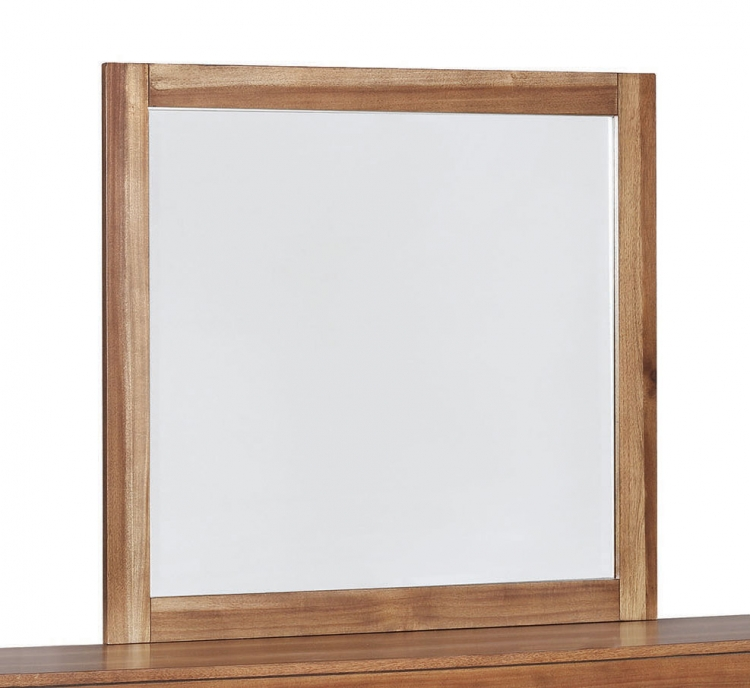 Ethan Mirror - Natural Brown