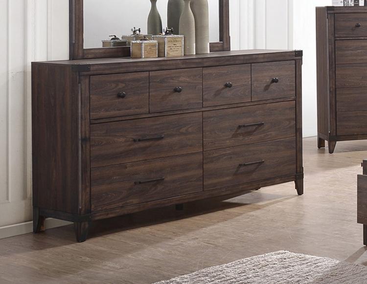 Richmond Dresser - Dark Grey Oak