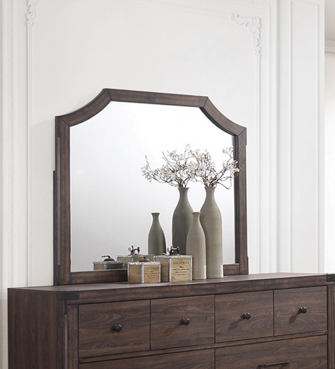 Richmond Mirror - Dark Grey Oak