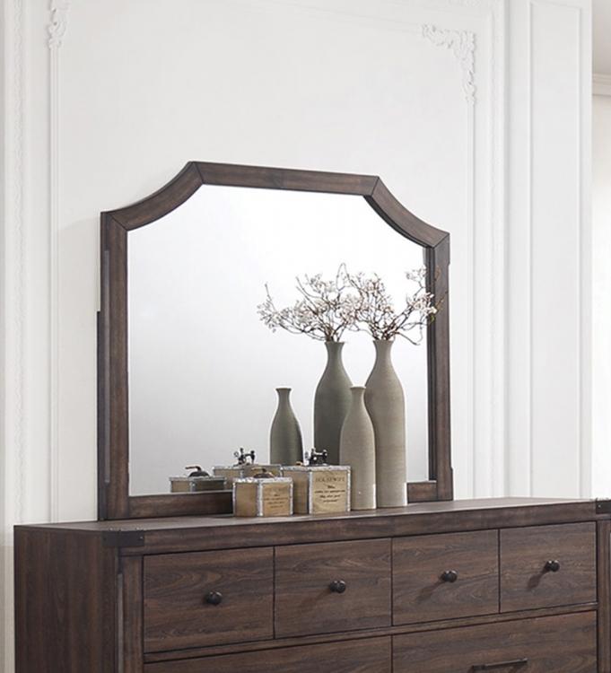 Richmond Mirror - Dark Grey Oak