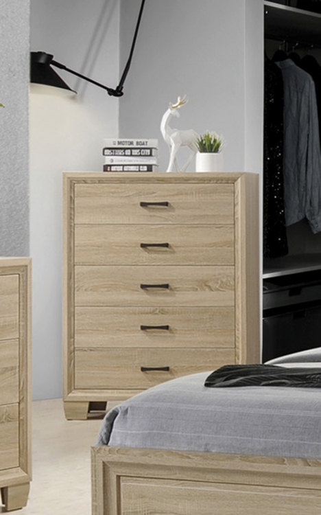 Vernon Chest - White Washed Oak