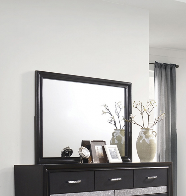 Miranda Mirror - Black