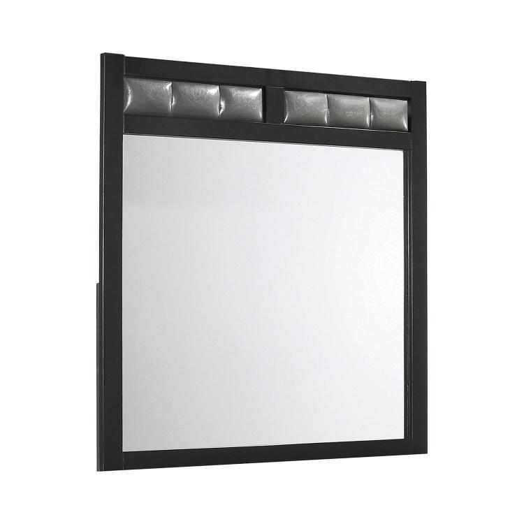 Carlton Mirror - Black