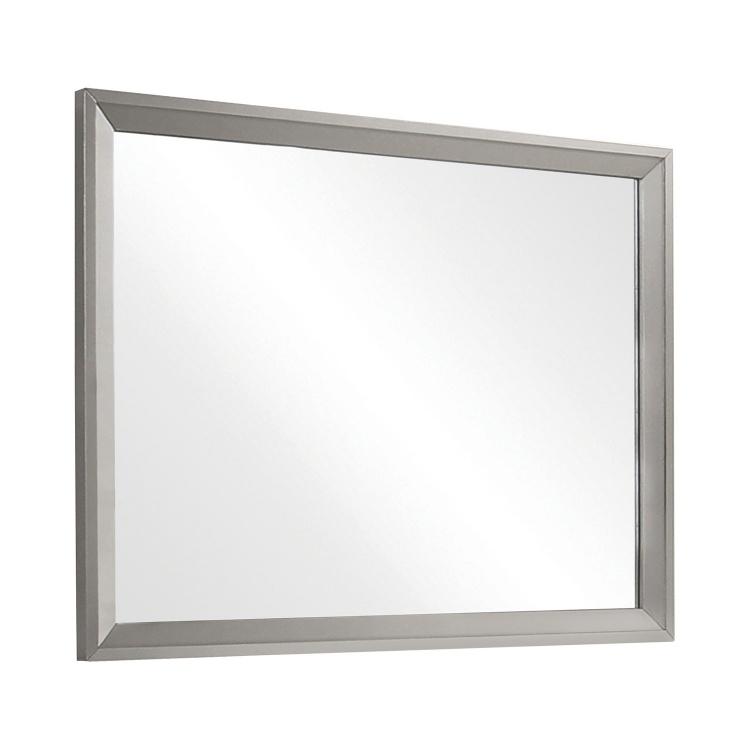 Ramon Mirror - Metallic Sterling