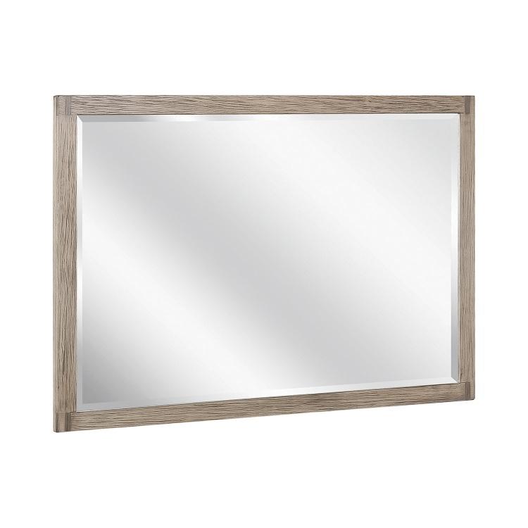 Smithson Mirror - Grey Oak