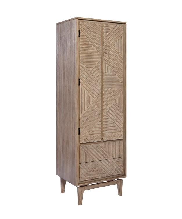 Vanowen Shoe Cabinet - Sandstone
