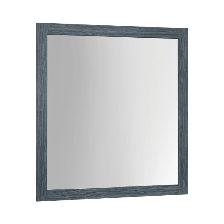 Julian Mirror - Dark Grey Oak