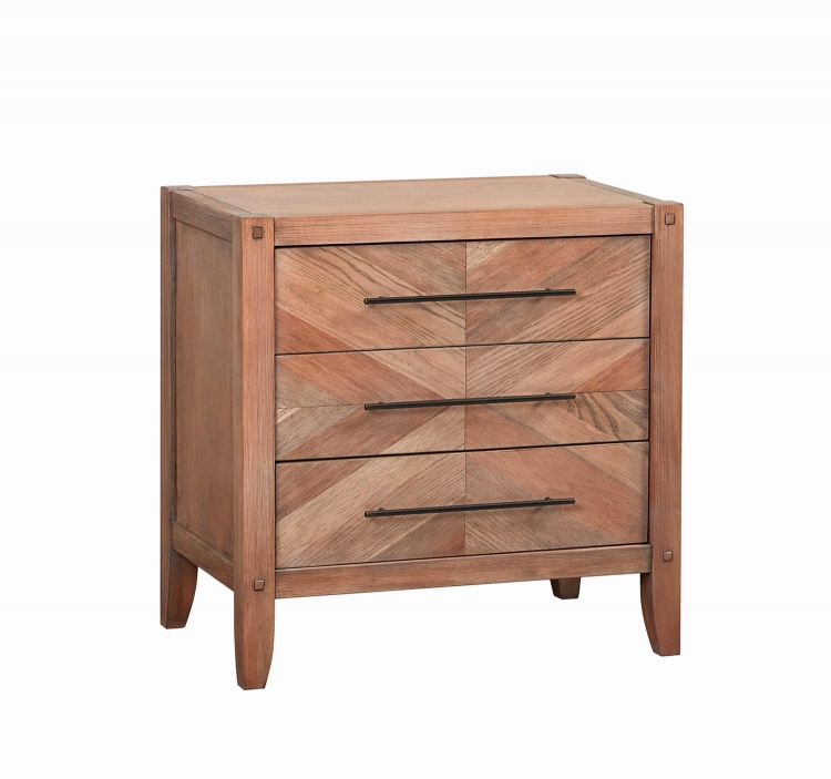 Tawny Nightstand - White Washed Natural