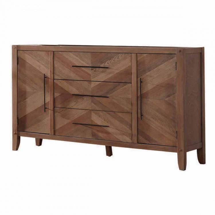 Tawny Dresser - White Washed Natural