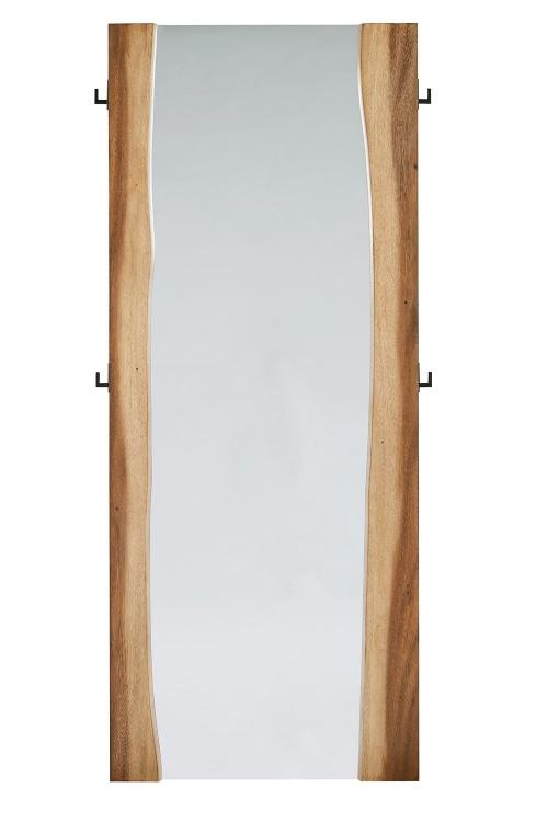 Winslow Floor Mirror - Smokey Walnut/Coffee Bean