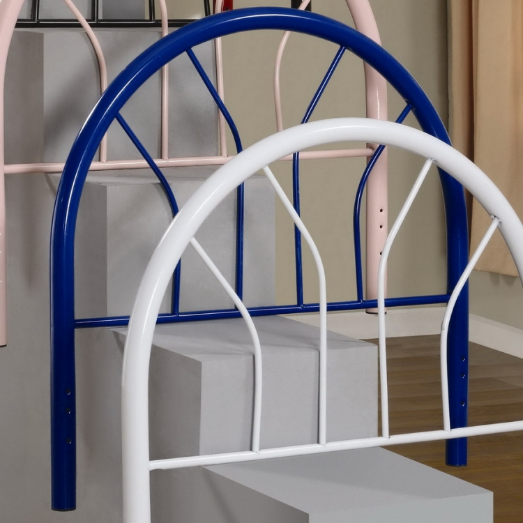 2366NT Twin Headboard - Blue