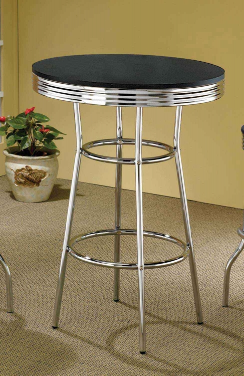 2405 Bar Table - Black