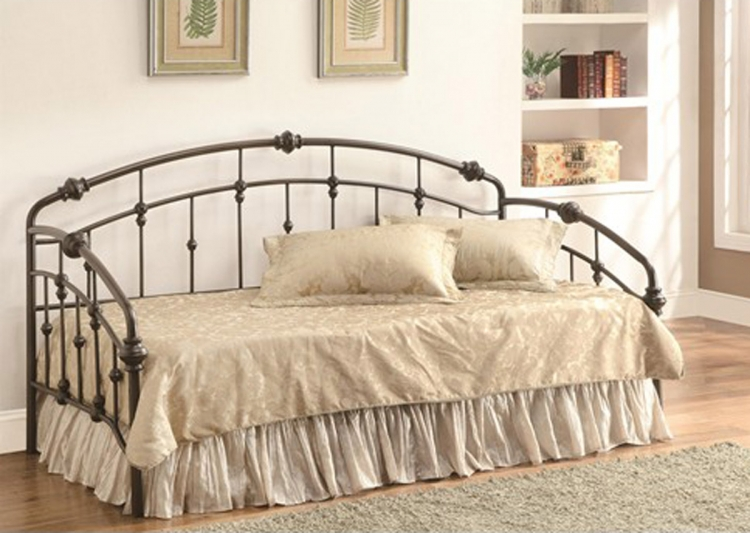 300097 Casual Metal Daybed - Black/Metal
