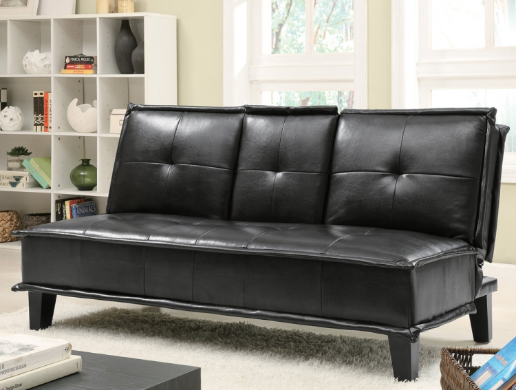 300138 Sofa Bed - Black - Coaster