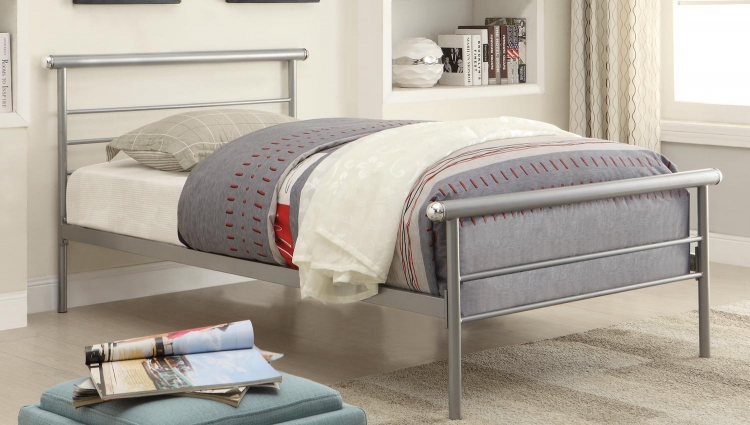 300181 Bed - Silver