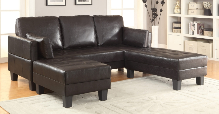 Ellesmere Sofa Bed - Dark brown