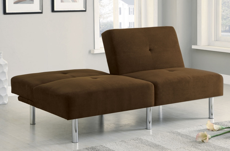 300207 Sofa Bed - Chocolate