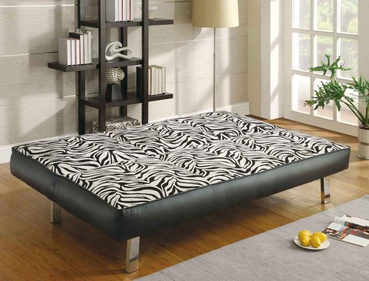 300230 Sofa Bed - White/Black - Coaster