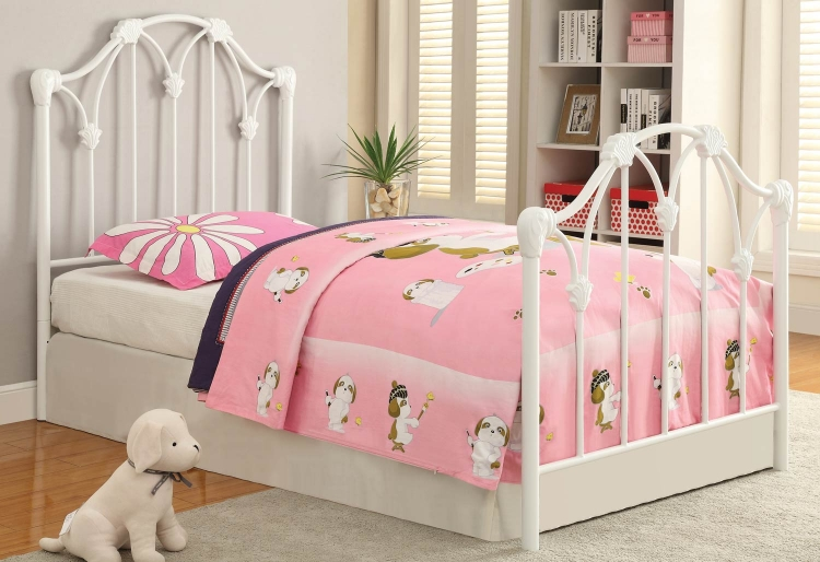 300257 Youth Bed - White