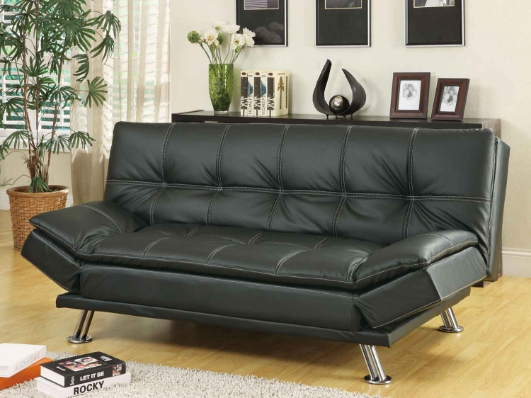 300281 Sofa Bed - Black