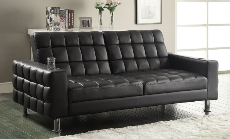 300294 Sofa Bed - Dark Brown