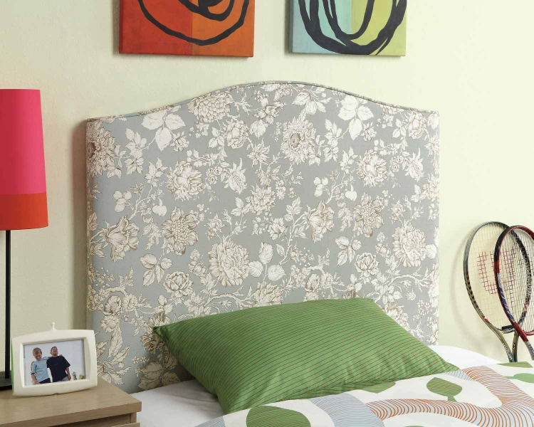 Leon Twin Headboard - Blue