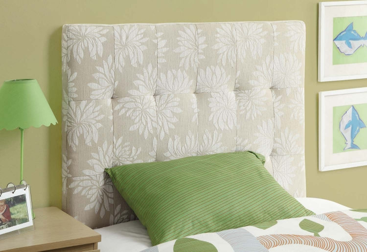 Leon Twin Headboard - Beige