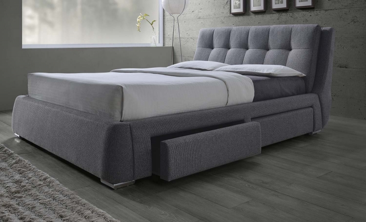 Fenbrook Bed - Grey