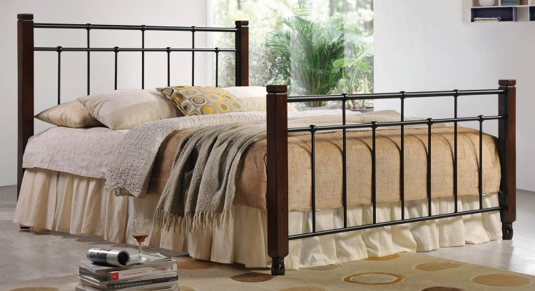 400023 Twin Youth Bed - Cappuccino