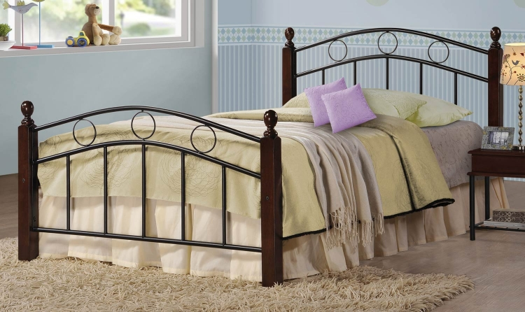400024T Twin Youth Bed - Cappuccino