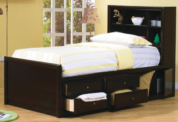 Phoenix Youth Bookcase Bed