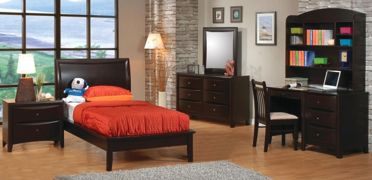 Phoenix Youth Platform Bedroom Set - Coaster