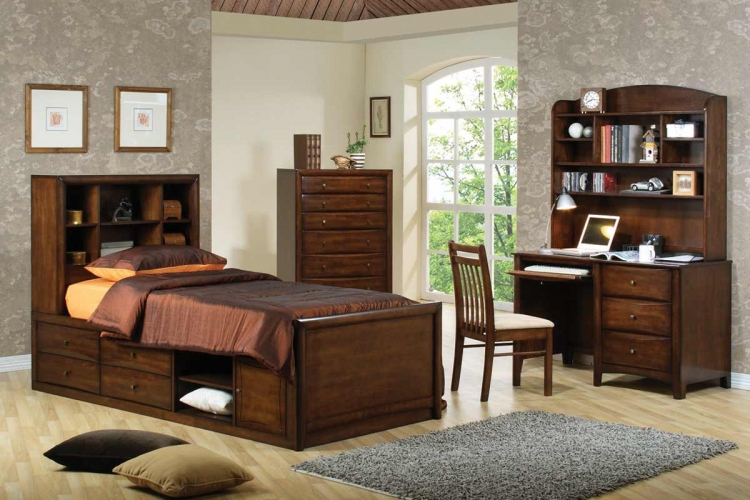 Scottsdale Bookcase Bedroom Set - Coaster