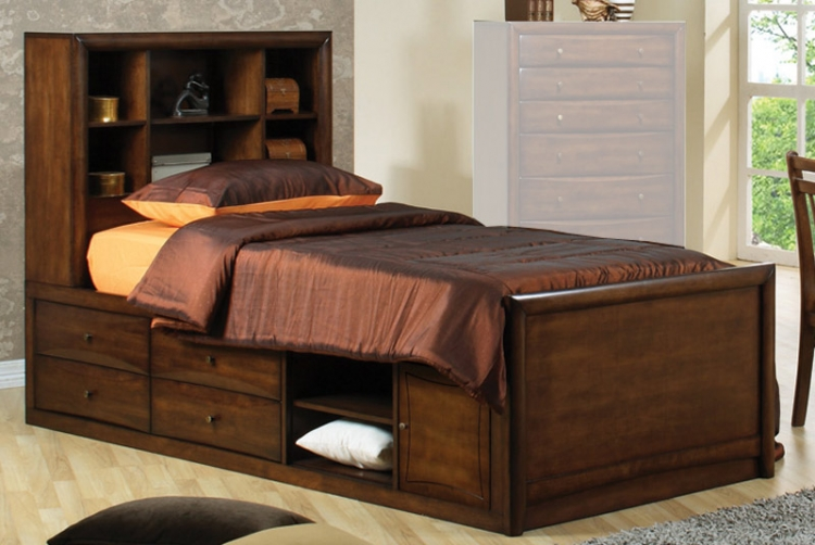 Scottsdale Bookcase Bed - Coaster