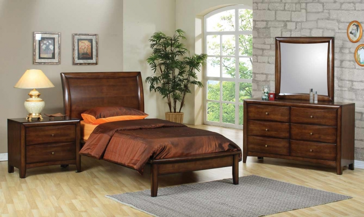 Scottsdale Platform Bedroom Set - Coaster