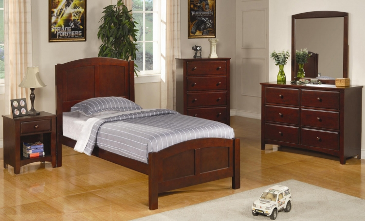 Parker Youth Panel Bedroom Set - Coaster