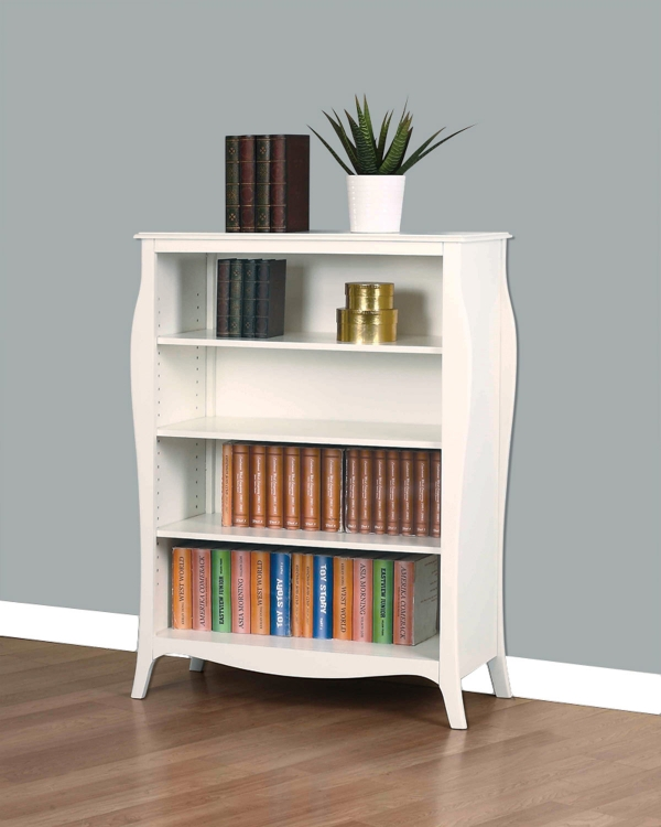 Dominique Bookcase - White