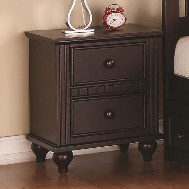 Oliver Night Stand - Cappuccino