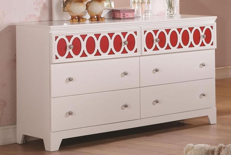 Madeline Dresser - White