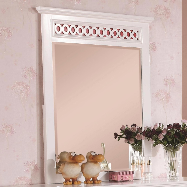 Madeline Mirror - White