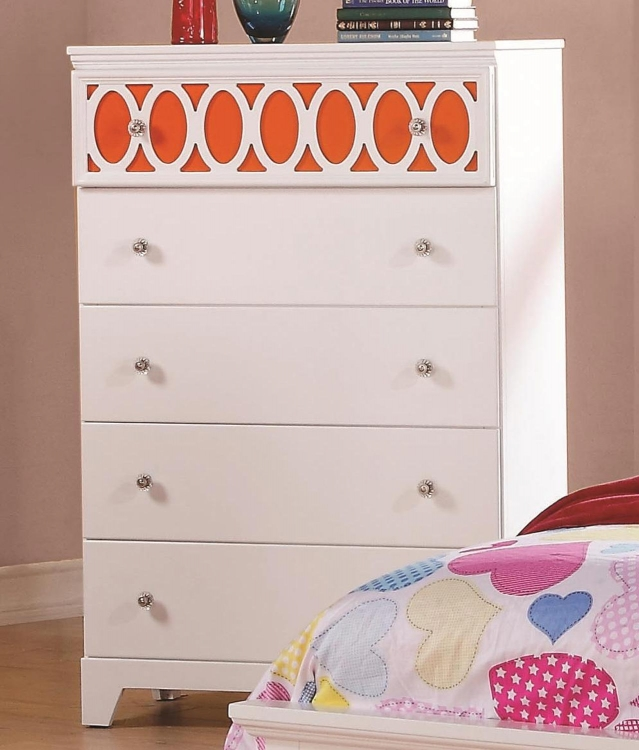 Madeline Chest - White