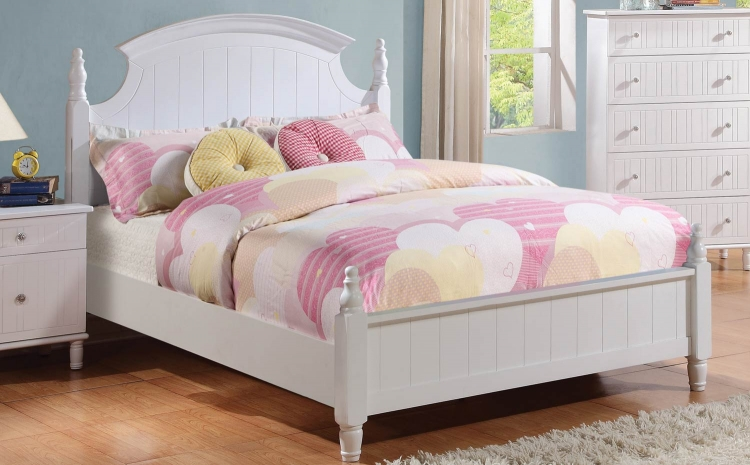 Bethany Bed - White
