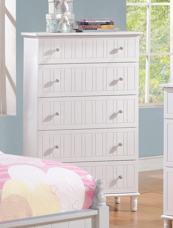 Bethany Chest - White